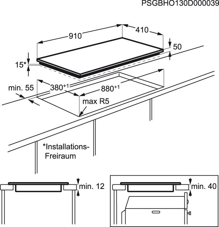 Electrolux - Placa de inducción - EHL9530FOK