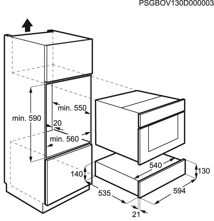 Electrolux - Cajón calientaplatos - EED14700OX