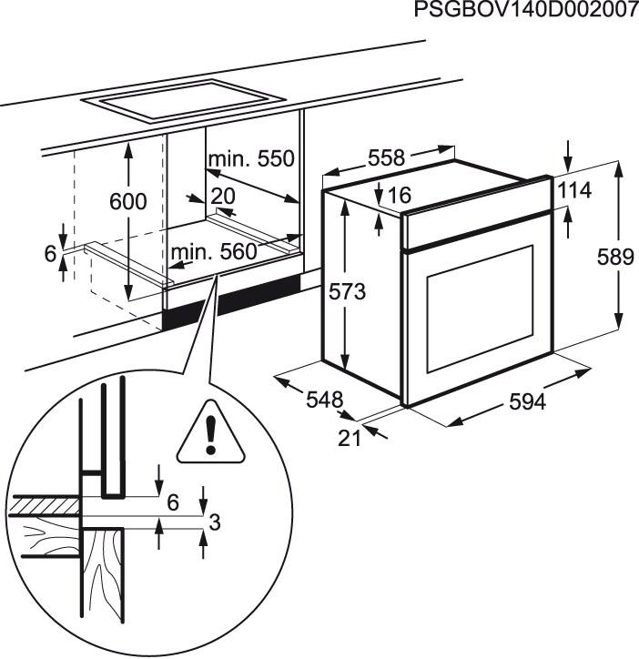 Electrolux - Forno - EOB2200COX
