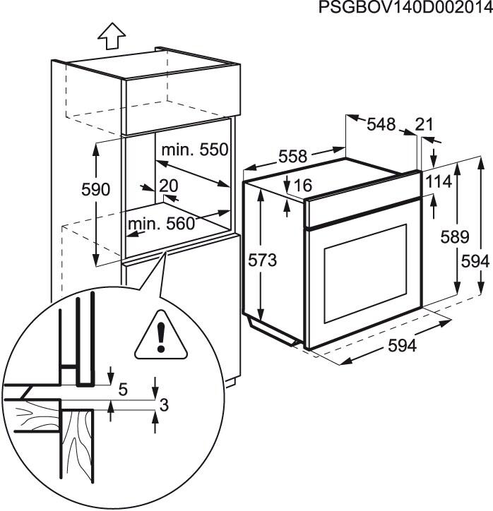 Electrolux - Horno de vapor - EOC6631AAX
