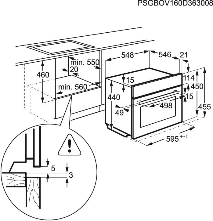AEG - Micro-ondas de integrar - KMK721000M