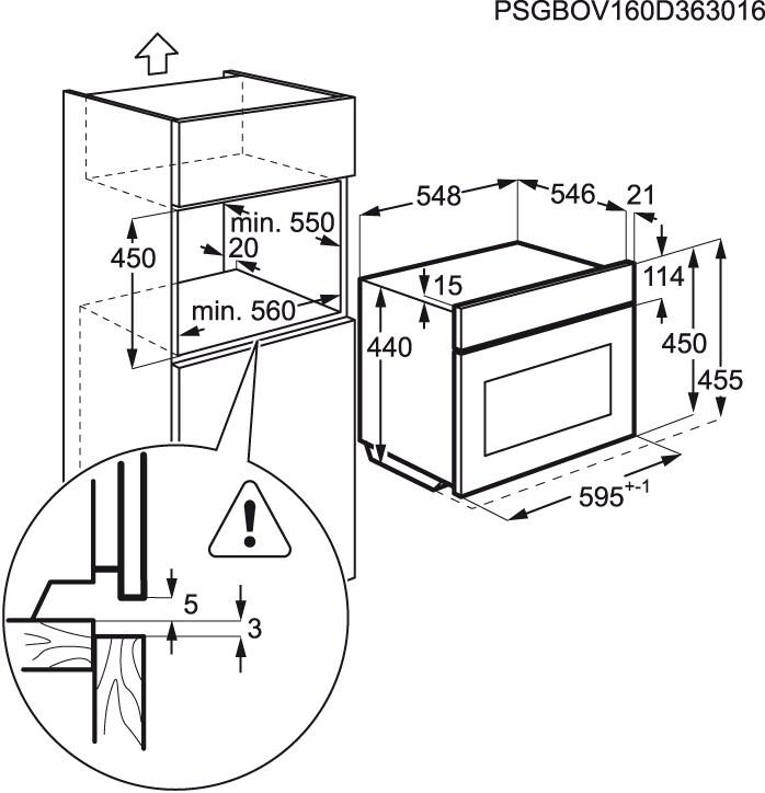 AEG - Micro-ondas de integrar - KMR721000B