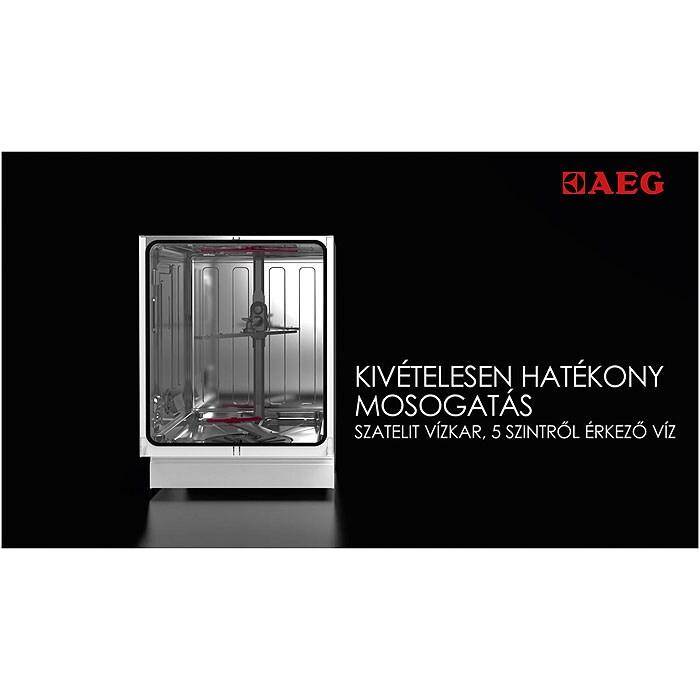 AEG - Beépíthető mosogatógép - F55600VI1P