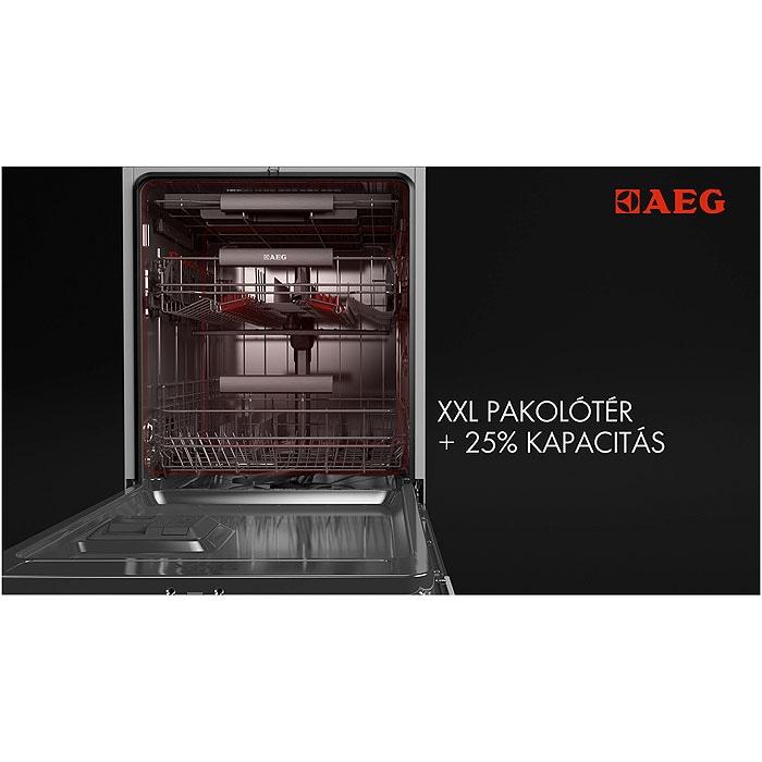 AEG - Beépíthető mosogatógép - F67702IM0P