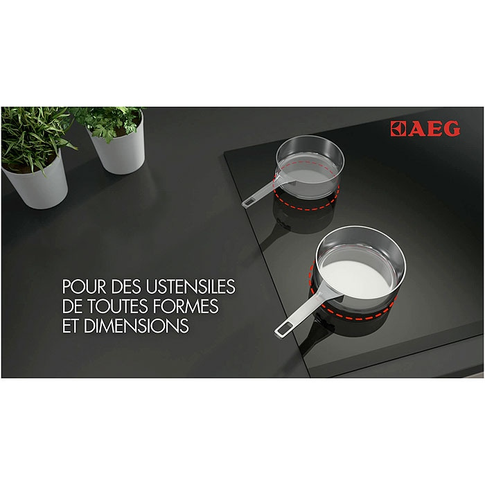 AEG - Table induction - HK753322CB