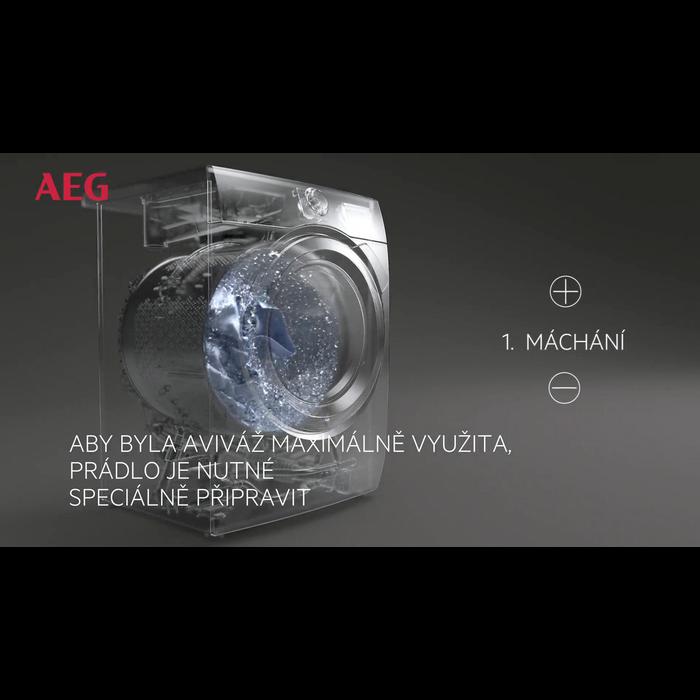 AEG - Pračka s předním plněním - L6FBG48SC