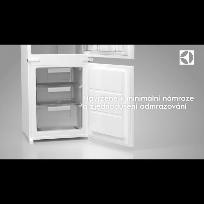 Electrolux - Vestavná mraznička - EUN1000AOW