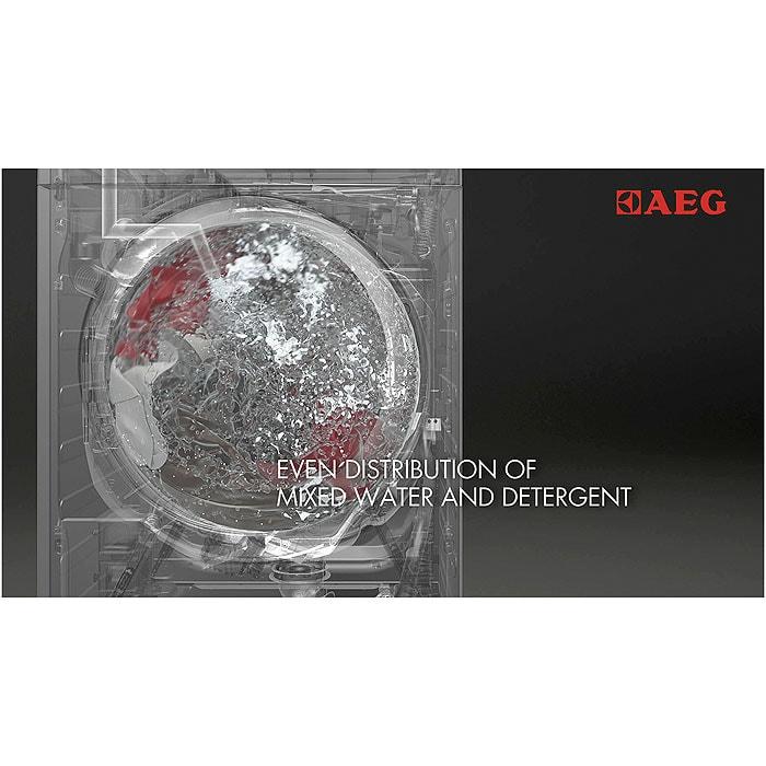 AEG - Edestä täytettävä pyykinpesukone - AL97699F