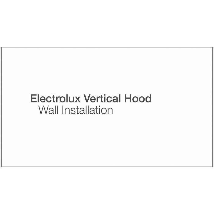 Electrolux - Væghængt emfang - EFF80680BX