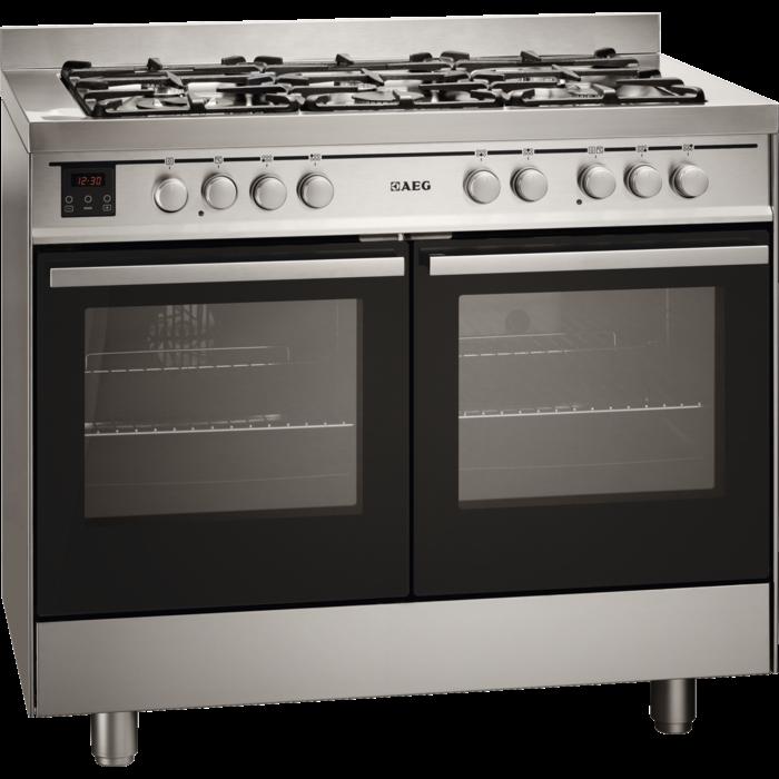 AEG - Gas cooker - 49190GO-MN