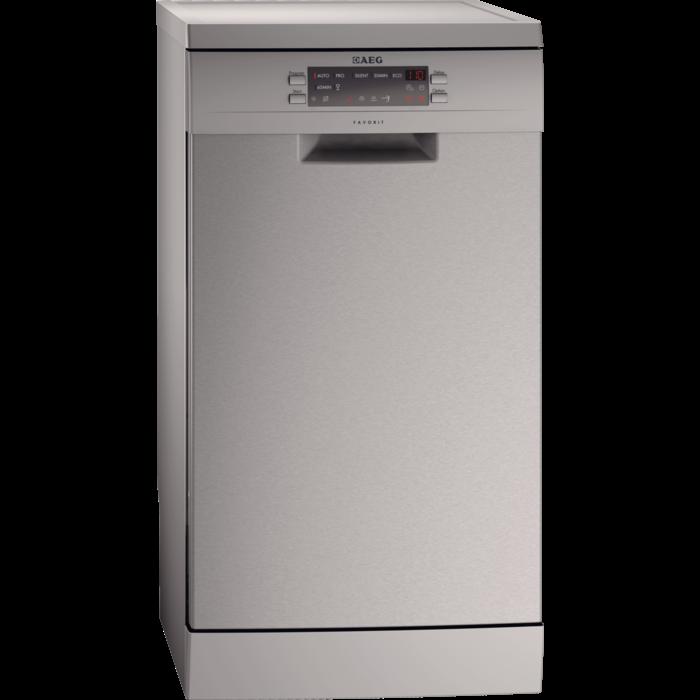 AEG - Free Standing Slimline Dishwasher - F77452M0P