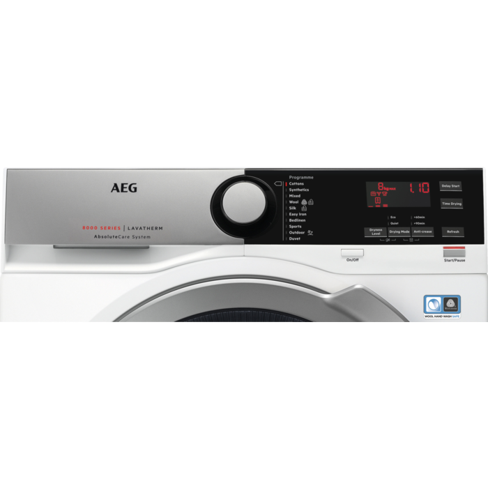 AEG - Heat pump dryer - T8DEE845R