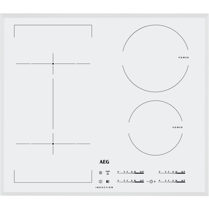 AEG - Piano cottura ad induzione - HKL65416FW
