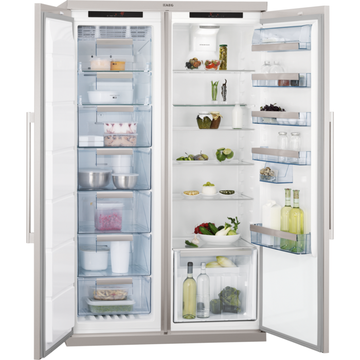 AEG - Side by side fridge-freezer - S95400XNM0
