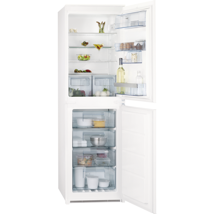 AEG - Integrated fridge freezer - Built-in - SCN51810S0