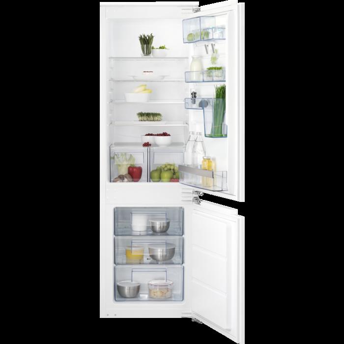 AEG - Встраиваемый холодильник с морозильной камерой. - SCS61800FF