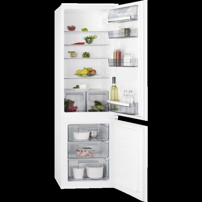 AEG - Réfrigérateur 2 portes encastrable - SCB51811LS