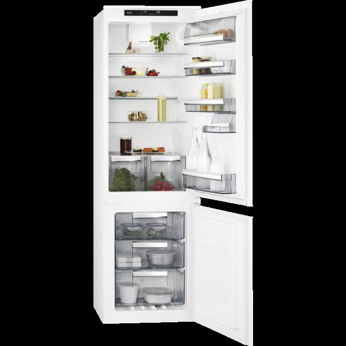 AEG - Réfrigérateur 2 portes encastrable - SCE81816TS