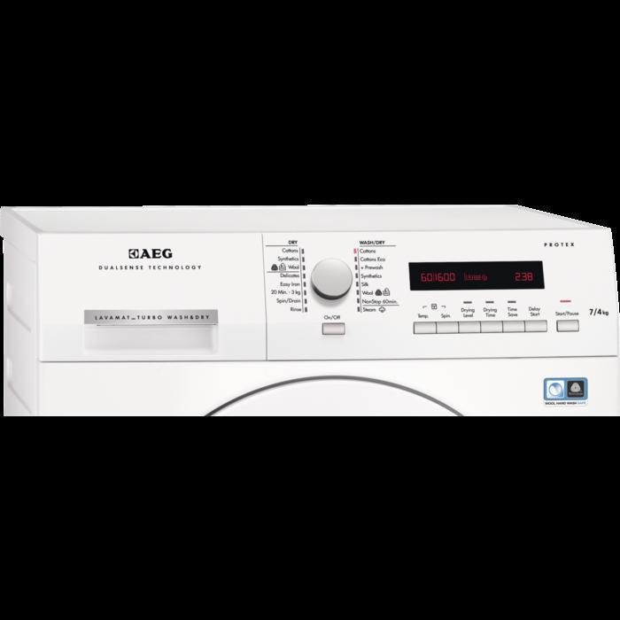 AEG - Freestanding washer dryer - L75670NWD