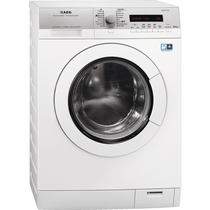 AEG - Freestanding washer dryer - L76685NWD