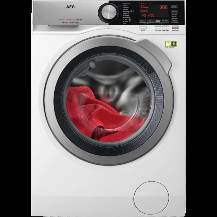 AEG - Front loader washing machine - L8FEC946R