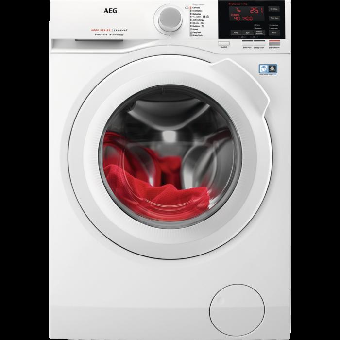 AEG - Front loader washing machine - L6FBG741R