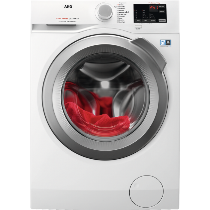 AEG - Front loader washing machine - L6FBI742N