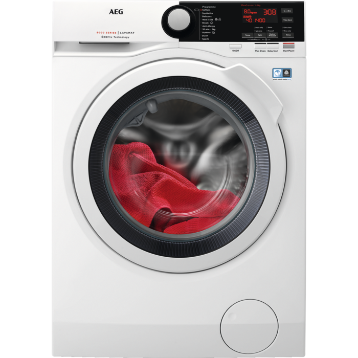 AEG - Front loader washing machine - L8FBE841R