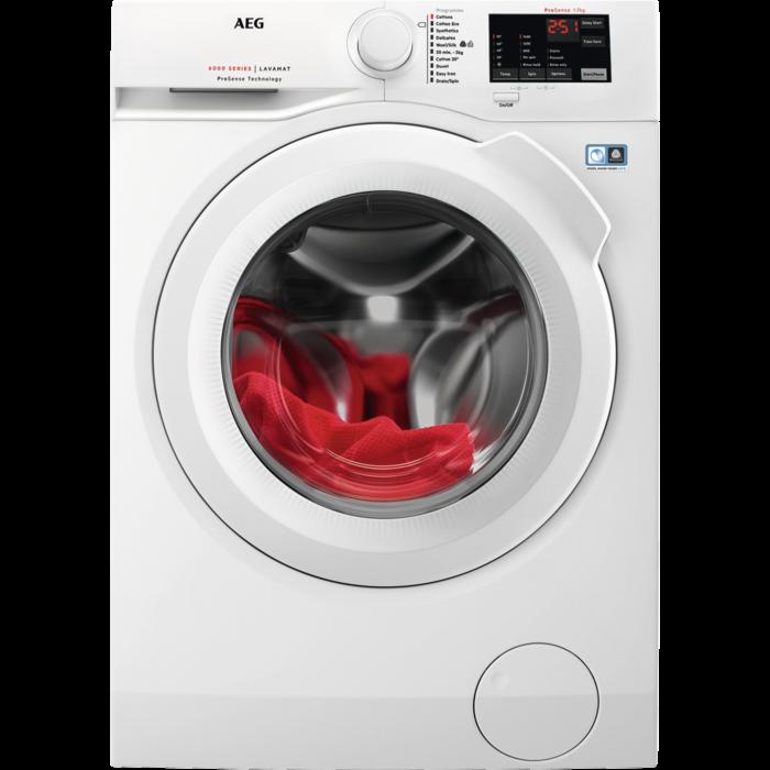 AEG - Front loader washing machine - L6FBI741N
