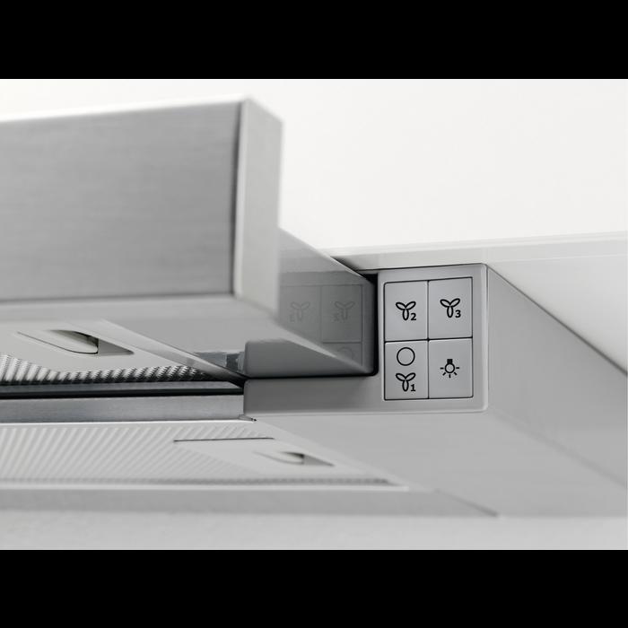 Electrolux - Utdragbar köksfläkt - EFP60436OX