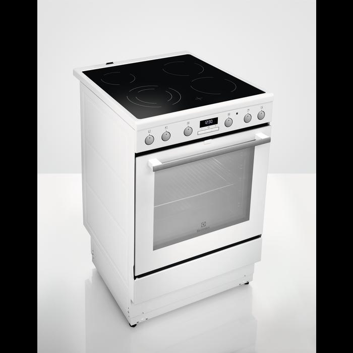 Electrolux - Komfur - EKC6554EIW