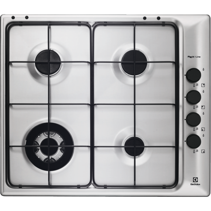 Electrolux - Piano cottura gas - Built-in - RGG6043NOX