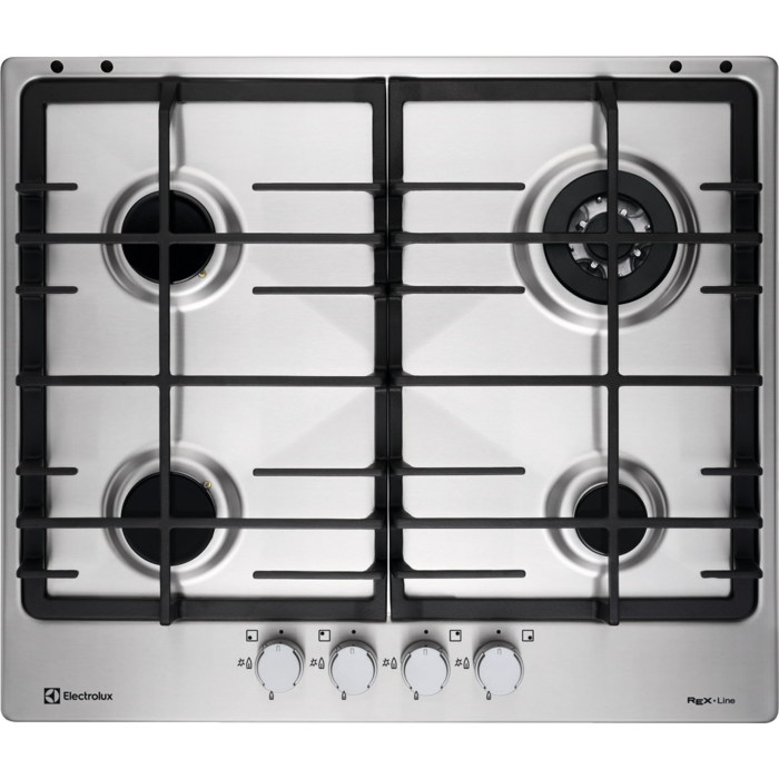 Electrolux - Piano cottura gas - Built-in - EGG6343NOX
