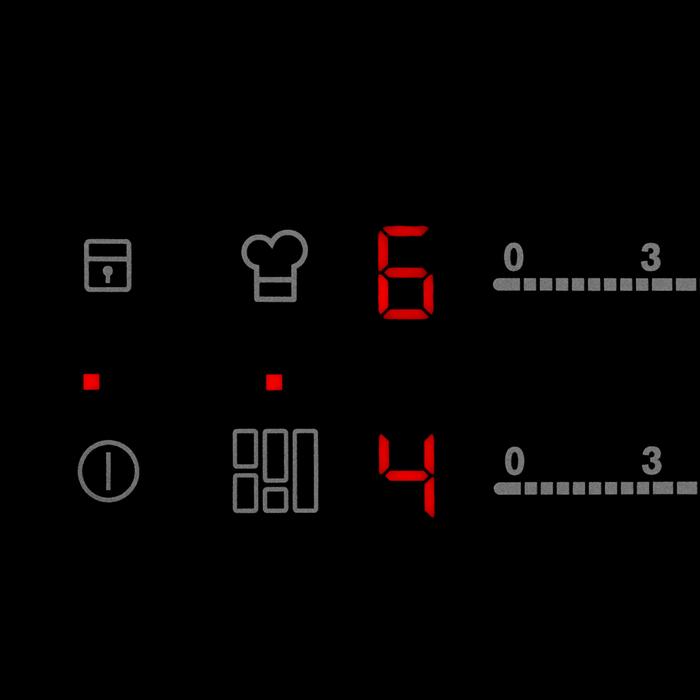 Electrolux - Induktionskogeplade - HHX650FHK