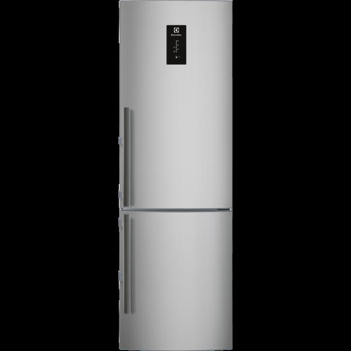 Electrolux - Wolnostojąca chłodziarko-zamrażarka - Wolnostojąca - EN3454MFX