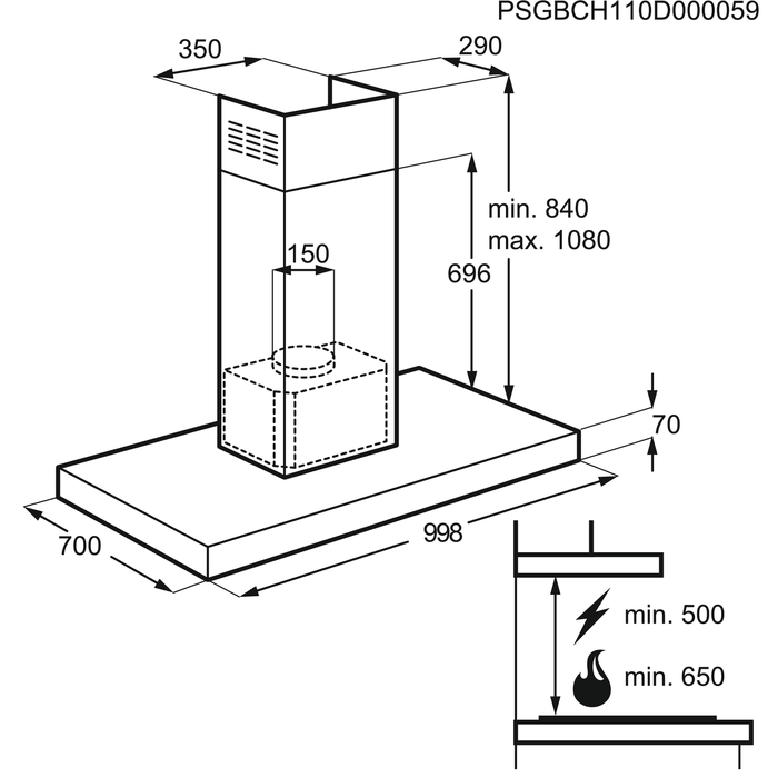 Electrolux - Sziget páraelszívó - EFL10566DX