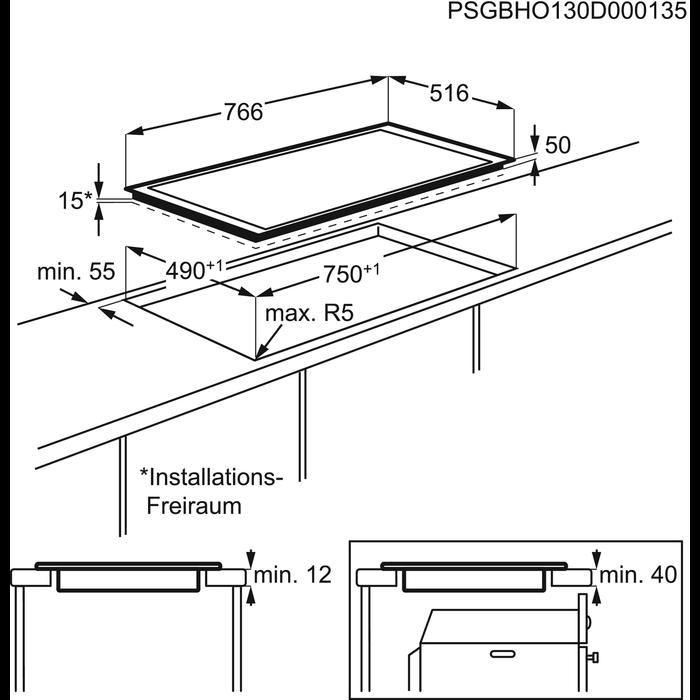 AEG - Table induction - HK856600XB