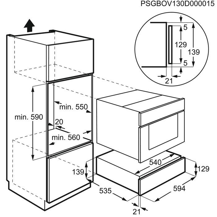 Electrolux - Warming Drawer - EED14800AX