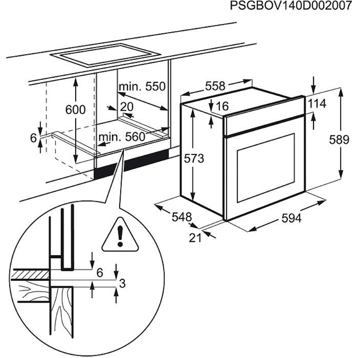 Zanussi - Steam oven - ZOS37902XD