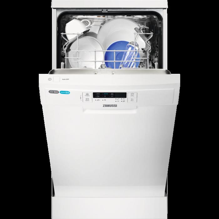 Zanussi - Freestanding slimline dishwasher - ZDS15010WA
