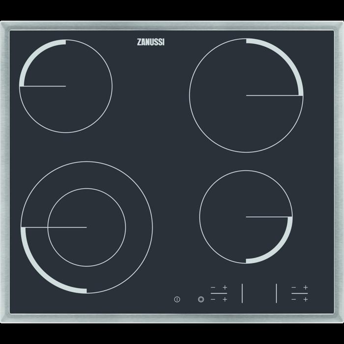 Zanussi - Електрична варильна панель - ZEV6341XBA