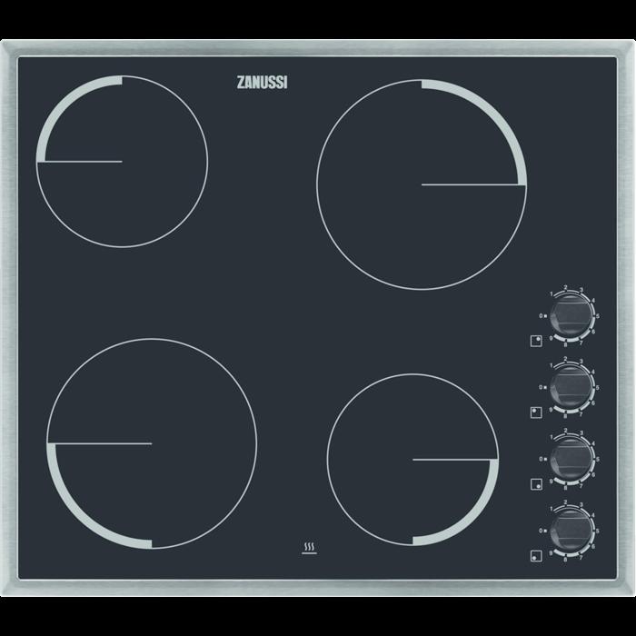Zanussi - Електрична варильна панель - ZEV6140XBA