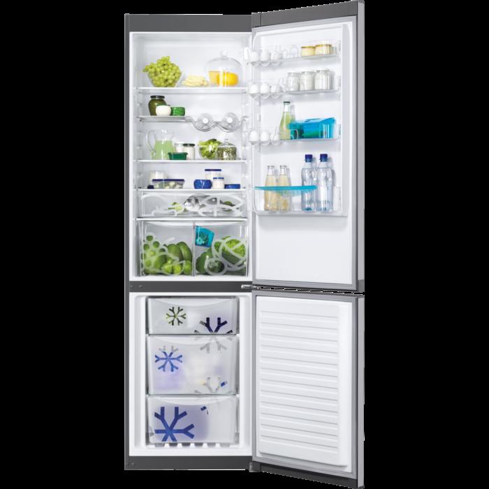 Zanussi - Freestanding fridge freezer - ZRB38224XA
