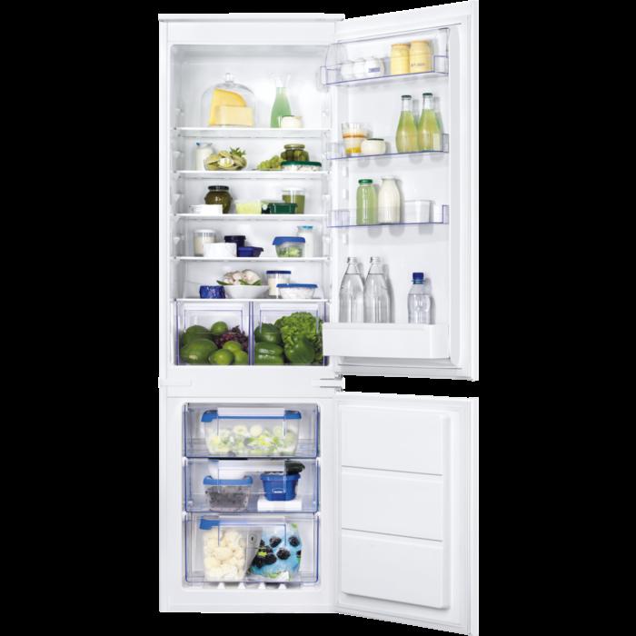 Zanussi - Integrated fridge freezer - ZBB28651SA