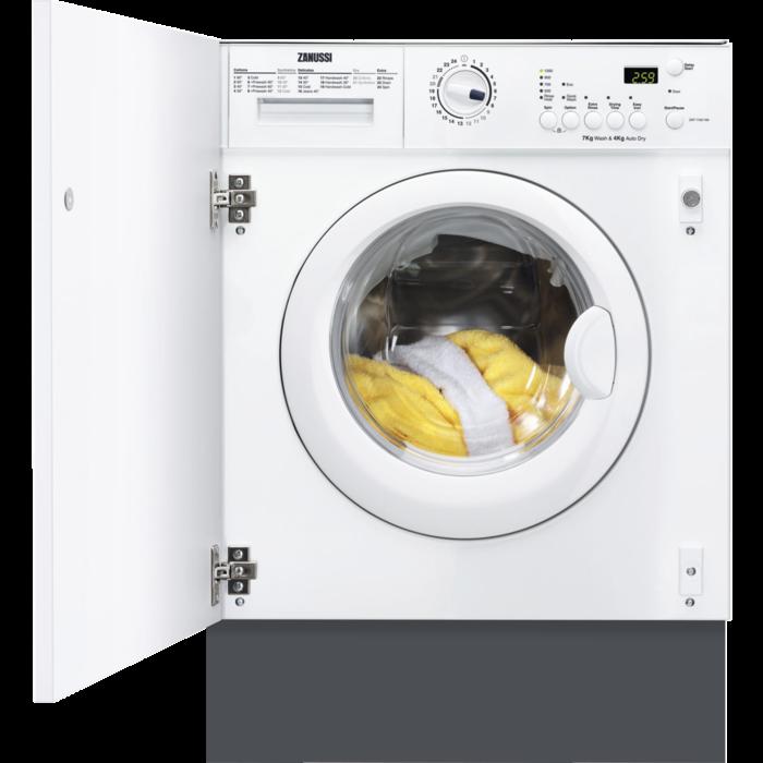 Zanussi - Integrated washer dryer - ZWT71201WA