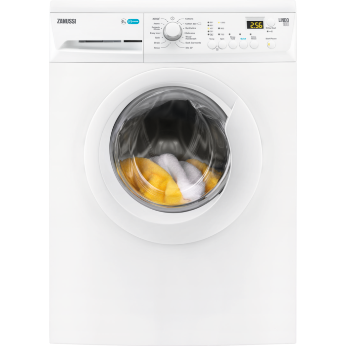 Zanussi - Front loader washing machine - ZWF61203W