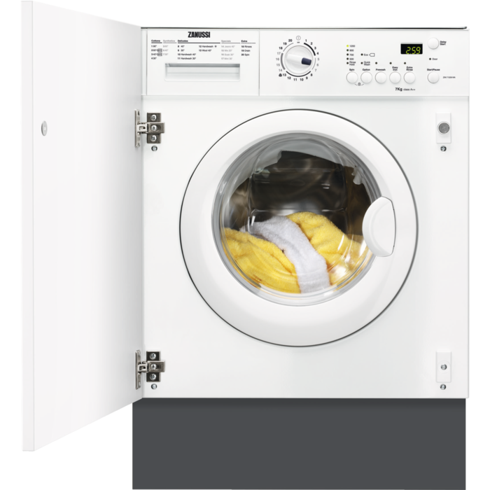 Zanussi - Integrated washing machine - ZWI71209WA
