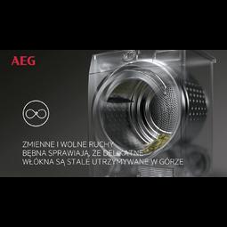 AEG - Suszarka z pompą ciepła - T8DEE48SP
