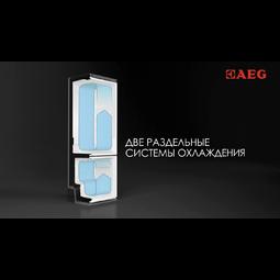 AEG - Отдельностоящий холодильник - S95392CTX2