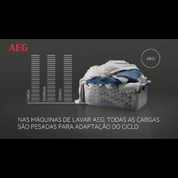 AEG - Máquina de lavar carga frontal - L6FBG144